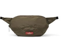 Packaway Leather-trimmed Shell Belt Bag