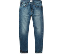 Five Slim-fit Washed-denim Jeans