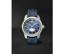 Hawking Limited Edition Automatic 41mm Stainless Steel and Leather Watch