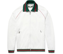 Tech-jersey Zip-up Track Jacket