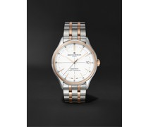 Clifton Baumatic Automatic Chronometer 40mm Stainless Steel and 18-Karat Rose Gold-Capped Watch, Ref. No. M0A10458