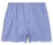 Mercerised Cotton Boxer Shorts