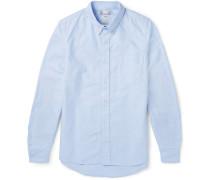 Albacore Elbow Patch Cotton Oxford Shirt