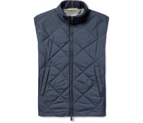 Reversible Water-resistant Quilted Shell Gilet
