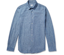 Slim-fit Cotton-chambray Shirt