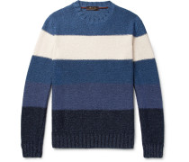 Melange Striped Sweater