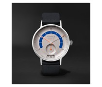 Autobahn Neomatik Datum Automatic 41mm Stainless Steel and Nylon Watch, Ref. No. 1303