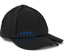 Distressed Logo-Embroidered Cotton-Blend Twill Baseball Cap