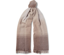 Dégradé Wool And Cashmere-blend Scarf