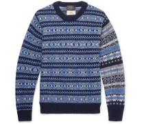 Gim Fair Isle Wool Sweater