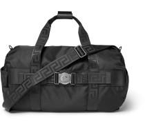 Logo-embellished Nylon Duffle Bag - Black