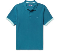Palatin Slim-fit Contrast-tipped Cotton-piqué Polo Shirt