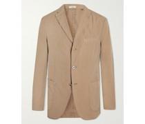 K-Jacket Slim-Fit Unstructured Stretch-Cotton Suit Jacket