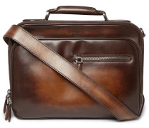 Gloria Polished-leather Briefcase
