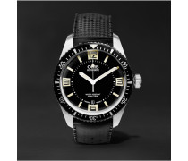 Divers Sixty-five 40mm Stainless Steel And Rubber Watch