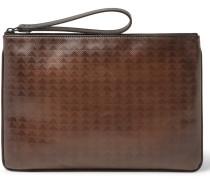 Pandora Vitello Pythagora Patterned Leather Pouch