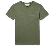 Hemp And Organic Cotton-blend T-shirt