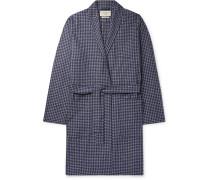 Cannington Gingham Cotton Robe