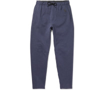 Nikelab Tapered Fleece-back Stretch-cotton Jersey Sweatpants