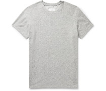 Textured Cotton-Blend T-Shirt