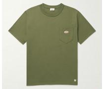 Callac Logo-Appliquéd Organic Cotton-Jersey T-Shirt