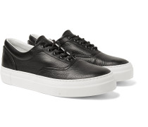 Iseo Textured-Leather Sneakers