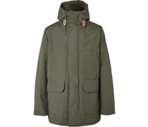 Cotton-Blend Hooded Parka