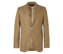 Kirtling York Slim-Fit Unstructured Linen Suit Jacket