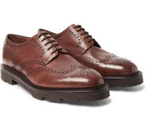 Hayle Leather Wingtip Brogues