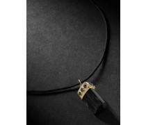 Gold, Tourmaline and Diamond Pendant Necklace