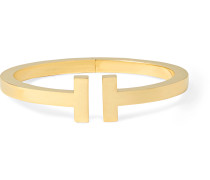 Tiffany T Square 18-Karat Gold Cuff