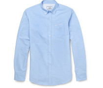 Slim-Fit Cotton Oxford Shirt