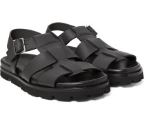Matte-leather Sandals