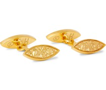 + Deakin & Francis Engraved Gold-Plated Cufflinks