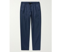 Travel Slim-Fit Stretch Cotton and Nylon-Blend Trousers