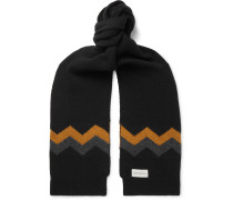 Arbury Intarsia Wool Scarf
