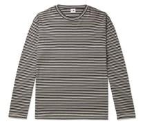 Kurt Striped Cotton and Modal-Blend T-Shirt