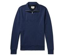 Milner Cotton-Blend Jersey Half-Zip Sweatshirt
