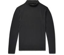 Cotton-jersey Rollneck T-shirt