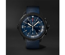 Aquatimer Laureus Sport For Good Limited Edition Automatic Chronograph 45mm Stainless Steel And Rubber Watch, Ref. No. IW379507