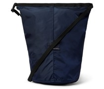 Utility Small Ripstop and Microsuede Messenger Bag