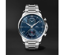 Portugieser Yacht Club Automatic Chronograph 44.6mm Stainless Steel Watch, Ref. No. IW390701