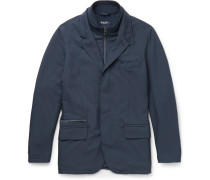 New Roadster Suede-trimmed Shell Jacket