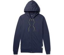 Cotton-jersey Zip-up Hoodie