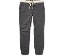 Slim-fit Stretch-nylon Twill Drawstring Trousers