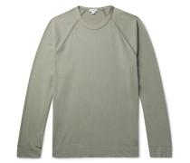 Brushed Cotton-Blend Jersey T-Shirt
