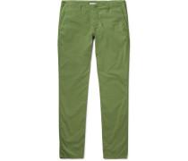 Riviera Slim-fit Cotton Trousers