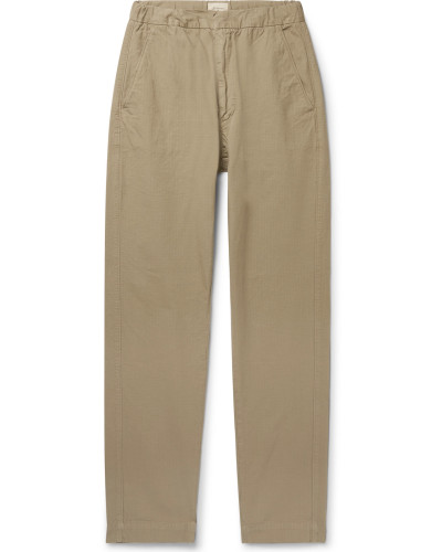 Tapered Cotton-Ripstop Drawstring Trousers