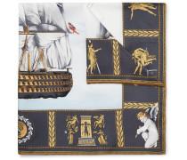 Victory Printed Silk-twill Pocket Square