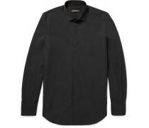 Slim-fit Cotton-poplin Shirt